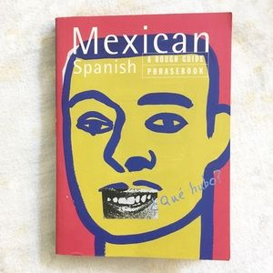 🌿 Mexican Spanish A Rough Guide Phrasebook 1996